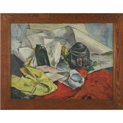 John Bageris (1924), Abstract still life, #886305