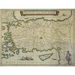 Original Map of Natolia,quae olim Asia Minor by #886312