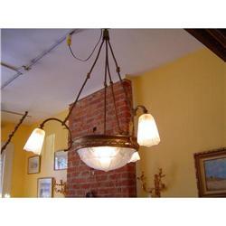 art deco chandelier #886319
