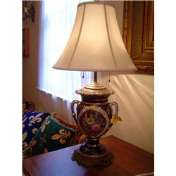 sevres urn mounted as a lamp #886323