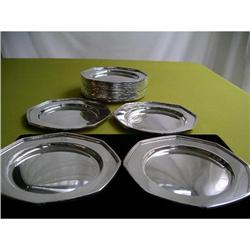 STERLING SILVER SALVERS;15 #886331