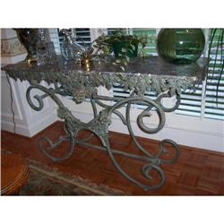 French Butcher Table #886335
