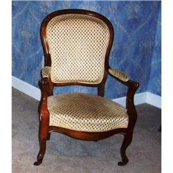 Pair of Louis Philippe French Armchairs c.1850 #886339