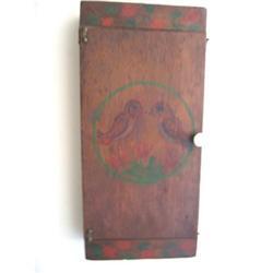 Hand Made Folk Art Cabinet ,Pa ,Early 1900's #896406