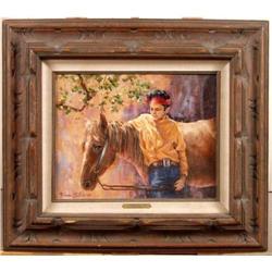 Orig Oil, California Artist Barbara Elliott #896416