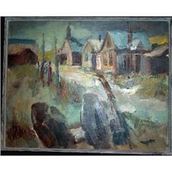 California Impressionism, Artist A. LINESCH,   #896418