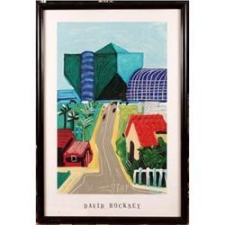 """West Hollywood, Hancock Street"", David Hockney #896423"