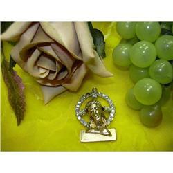 PENDANT - JESUS IMAGE SURR. BY A DIAMOND HALO #896439