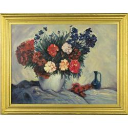 Floral Still Life - Oil on Canvas beautifully #896462