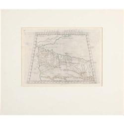 Map of Aphricae Tabula I - 1545 #896464