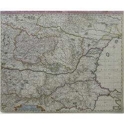 Map of Exactissima Tabula qua tam Danubii #896465