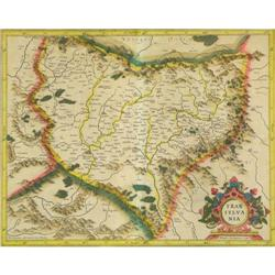 Original Map Transylvania by MERCATOR #896470