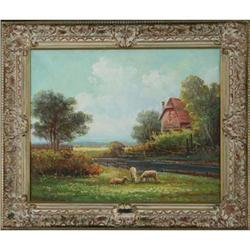 Landscape with  Sheep by Edwin Henry  #896471