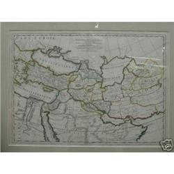 Map of Alexandri Magni Macedonis Expeditio #896474