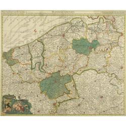 Original Map of Flandriae Comitatus #896475