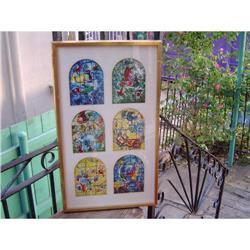 "pair of marc Chagall print "" the Jerusalem #896476"