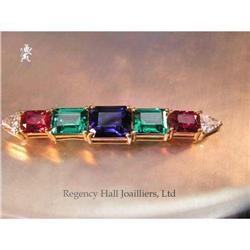 RHJ Synthetic Sapphire & Ruby, YAG, Cubic #896527