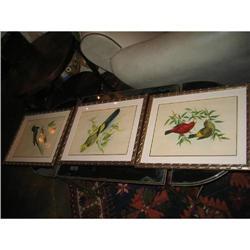 Set of Three 19th-century Engravings #896532