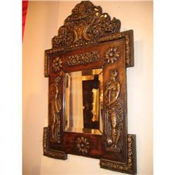 French Napoleon III Period Mirror #896533