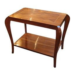 French Art Deco Rosewood Side Table #896534