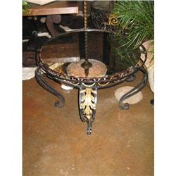 French Wrought-Iron Coffee Table #896535
