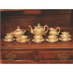 Old Paris Tea Set #896541