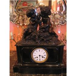 French Clock with Cherubs #896542