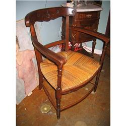 19th Century French Oak Armchair #896546