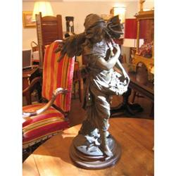 19th Century French Spelter Figure #896557
