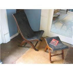Pair of Signed Spanish Chairs #896558