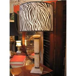 French Art Deco Period Alabaster Lamp #896562