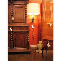 Spanish Forged Iron Floor Lamp #896563