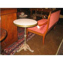 French Napoleon III Bistro Table #896570