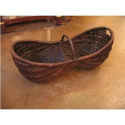 19th Century French Harvest Basket #896573