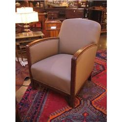 Pair of French Art Deco Armchairs #896577