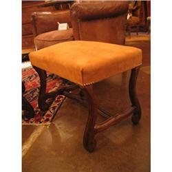 Pair of French Louis XIV Walnut Benches #896579