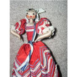 International Joly Mexican thread wrapped doll #896633
