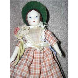 Ruth Gibbs China Little Women Doll- Meg #896641