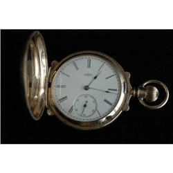Antique 18K Gold Elgin Pockwatch #896651