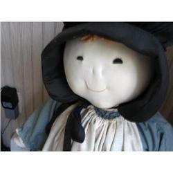 Amish like  girl doll  #896655