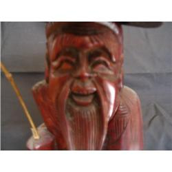 wooden Oriental fisherman #896660