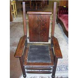 Arts & Crafts Arm Chair--Minimalist!!! #896664