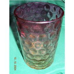 Genuine Victorian Amberina GlassTumbler--WOW!!! #896672
