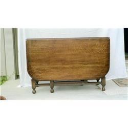 English Oak Gateleg Table - Large #896675