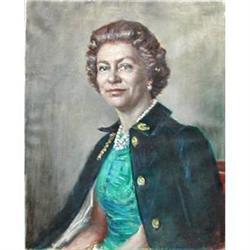 Portrait of HRH Queen Elizabeth (1926- ) #896685