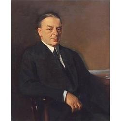 Portrait of Sir W H Goschen, KBE, Oswald Birley #896687