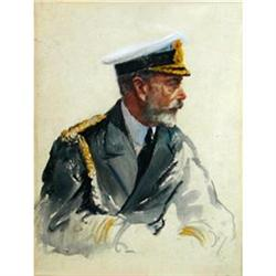 Portrait of George V (1865-1936),   #896689