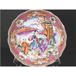 Chinese Export Plate. Mandarin Scene. 19th C #896697
