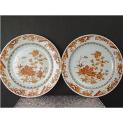 Pair Chinese Export Plates. 19th C #896698