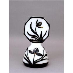 Old Chinese Export Peking Glass Perfume Bottle #896723